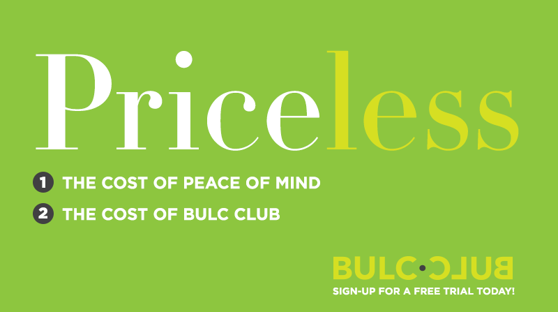 Try Bulc Club for Free!