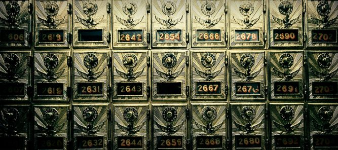 PO Boxes without Numbers