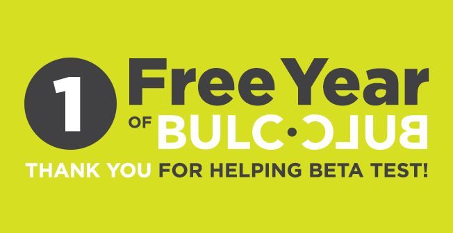 One Free Year of Bulc Club