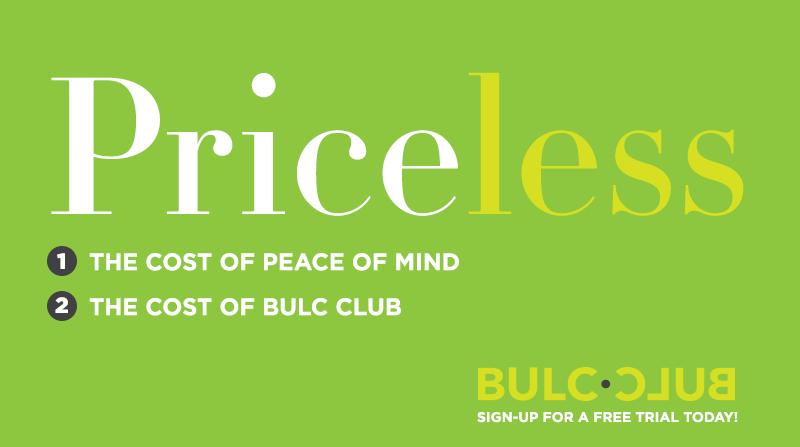 Try Bulc Club for Free!