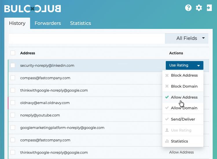 Bulc Club - Allow Address