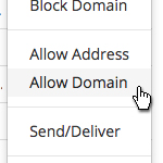 LinkedIn - Allow Domain