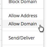 LinkedIn - Allow Domain